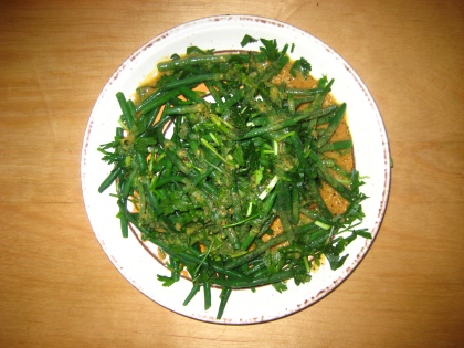 haricots verts in een vinaigrette